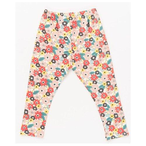 Купить Легинсы artie ABr-376 размер 68, бежевый/красный/розовый/зеленый, Брюки и шорты