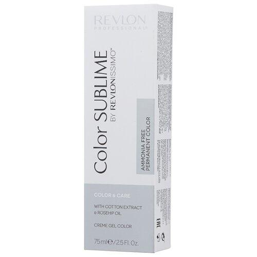 Revlon Professional Revlonissimo Color Sublime стойкая краска для волос, 75 мл, 6.40 темный блондин интенсивный медный