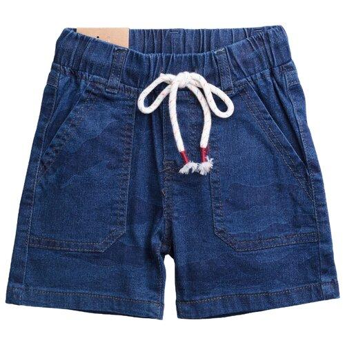 Купить Шорты playToday размер 86, синий, Брюки и шорты