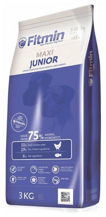 Корм для собак Fitmin (3 кг) Maxi Junior