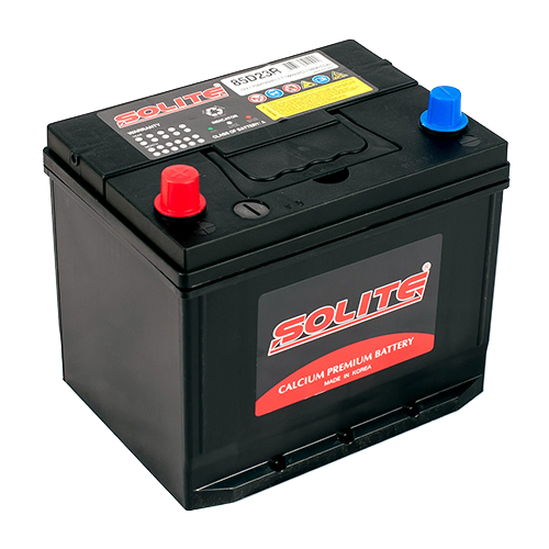 Автомобильный аккумулятор Solite 85D23R BH.