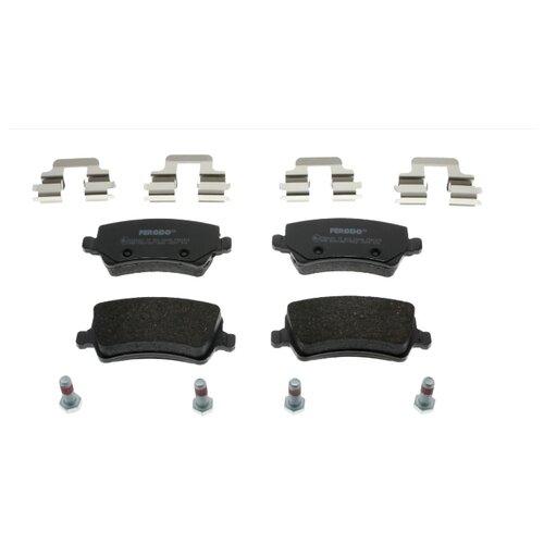 Дисковые тормозные колодки задние Ferodo FDB1918 для Volvo, Ford (4 шт.) тормозные колодки дисковые kotl 1546kt