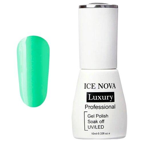 Купить Гель-лак для ногтей ICE NOVA Luxury Professional, 10 мл, 014 seafoam