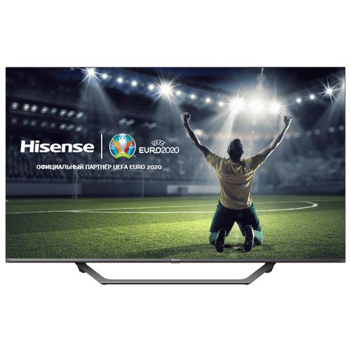 Фото - Телевизор Hisense 43AE7400F 43 серый/черный телевизор hisense 50a7300f 50 2020 черный