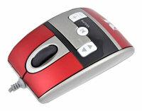 Мышь Modecom MC-319 Red-Silver USB