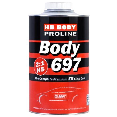 Автомобильный лак HB BODY Proline 697 HS 1000 мл