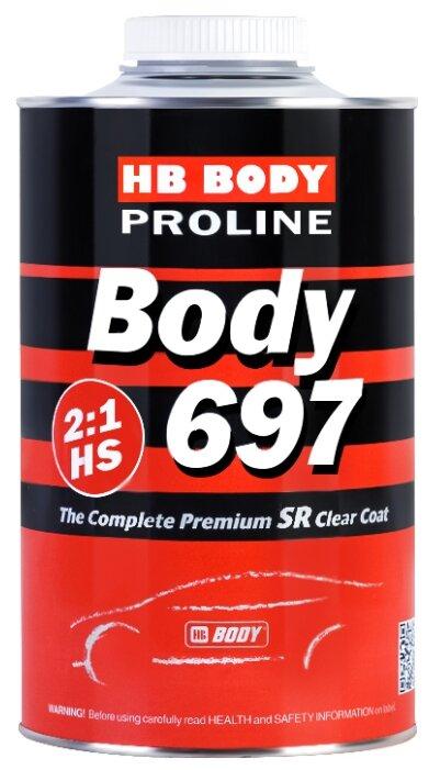 Автомобильный лак HB BODY Proline 697 HS