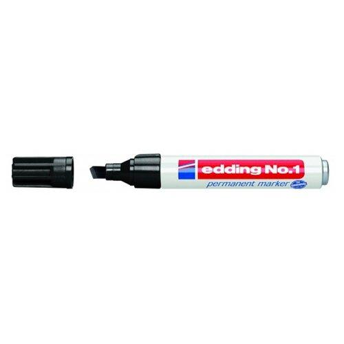 Маркер Edding No.1 черный edding маркер перманентный e 390 1 35738