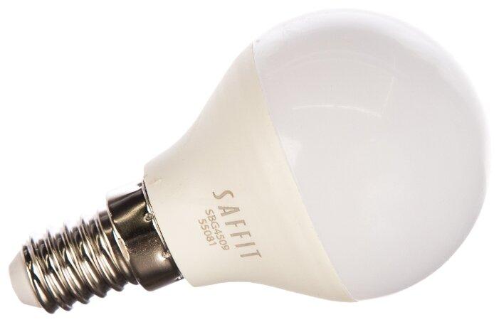 Лампа светодиодная Saffit SBG4509 55081, E14, G45, 9Вт — купить по выгодной цене на Яндекс.Маркете