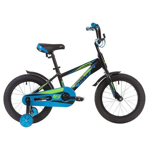 Детский велосипед Novatrack Lumen 16 (2019) черный (требует финальной сборки)