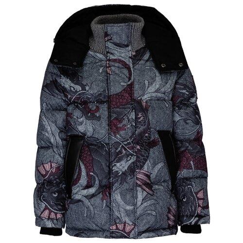Купить Куртка Gulliver 21910BJC4102 размер 164, серый, Куртки и пуховики