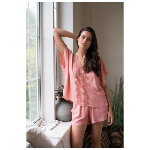 Пижама Laete размер XS(42) пыльная роза платье oodji ultra цвет красный белый 14001071 13 46148 4512s размер xs 42 170