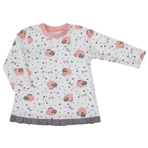 Купить Лонгслив KotMarKot размер 92, молочный, Футболки и рубашки