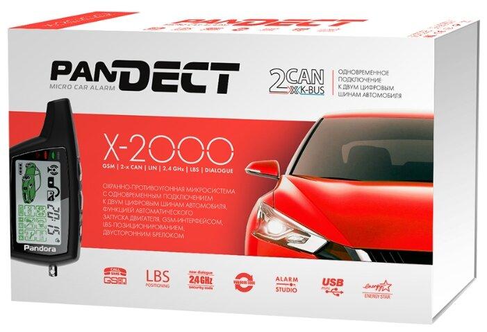 Автосигнализация Pandora Pandect X-2000