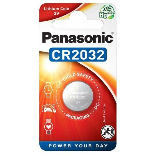 Купить Батарейка Panasonic Lithium Coin CR2032 1 шт блистер
