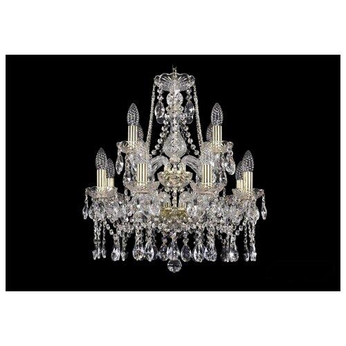 Люстра Bohemia Ivele Crystal 1413/8+4/165/2d/G, E14, 480 Вт люстра bohemia ivele crystal 1716 8 8 4 265b gb