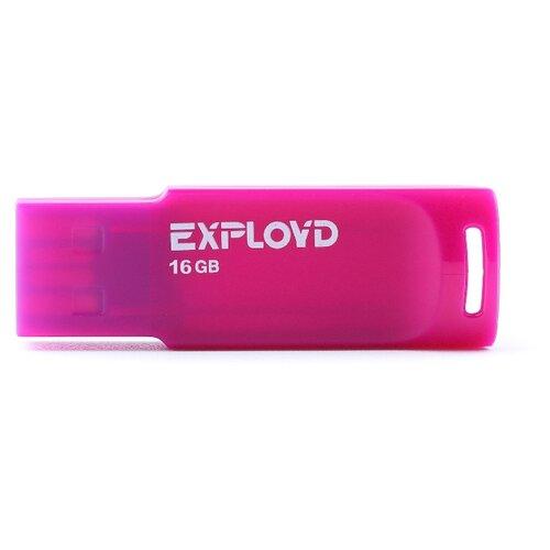 Фото - Флешка EXPLOYD 560 16GB violet флешка exployd 560 16gb red