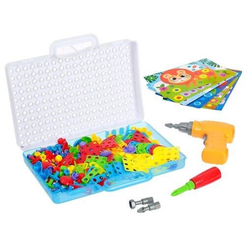 3D-мозаика с шуруповёртом Весёлтые зверята в чемоданчике, SL-02622 4301030