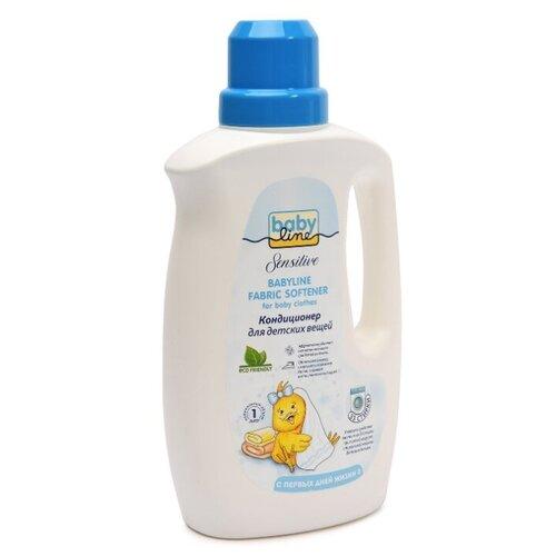 BabyLine Концентрированный кондиционер для детских вещей Sensitive, 1 л, флакон