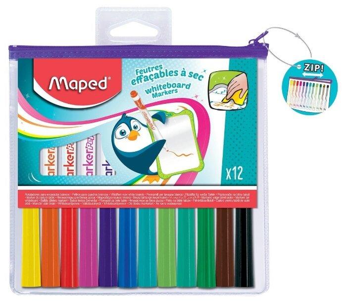 Набор маркеров для белых досок Maped