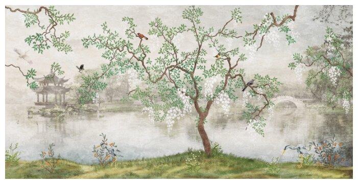 Купить Фотообои PosterMarket WM-83NW (Японский сад) 368*184 Ш*В по низкой цене с доставкой из Яндекс.Маркета