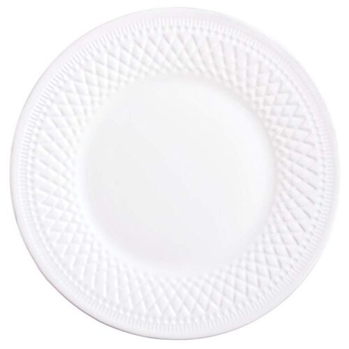 Luminarc Тарелка десертная Alizee Perle 22 см белый тарелка закусочная десертная luminarc nordic epona d 22 см