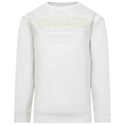 Купить Свитшот EMPORIO ARMANI размер 152, белый, Толстовки