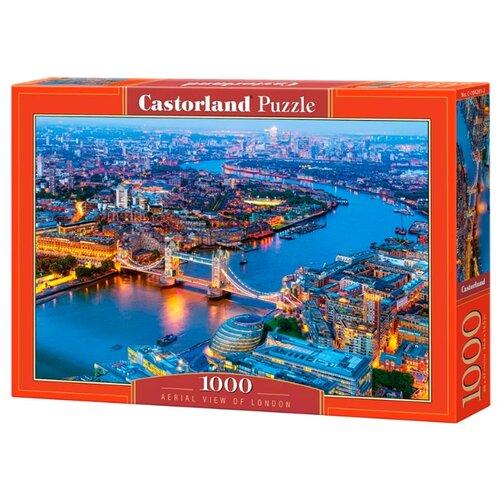 Купить Пазл Castorland Aerial view of London (C-104291), 1000 дет., Пазлы