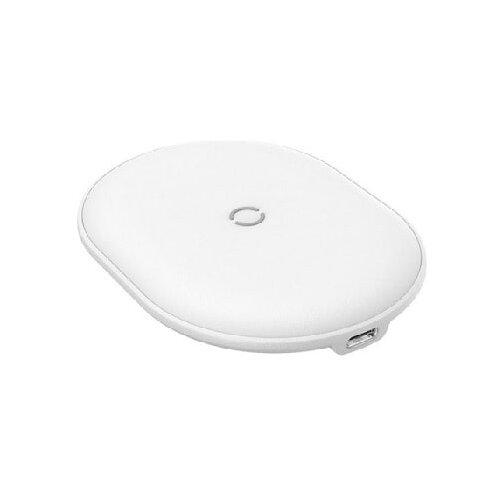 Фото - Беспроводная сетевая зарядка Baseus Cobble Wireless Charger 15 Вт белый беспроводная сетевая зарядка baseus ufo desktop wireless charger черный