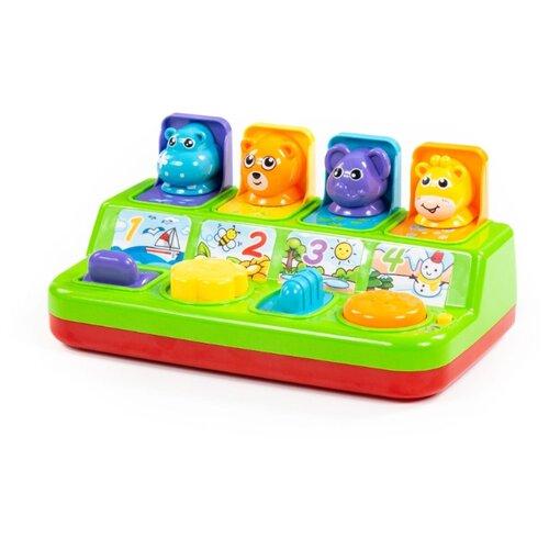 цена на Развивающая игрушка Полесье Игра с сюрпризом зеленый