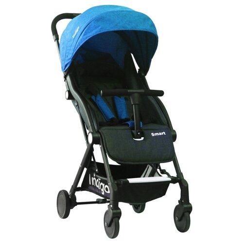 Купить Прогулочная коляска Indigo Smart синий, Коляски