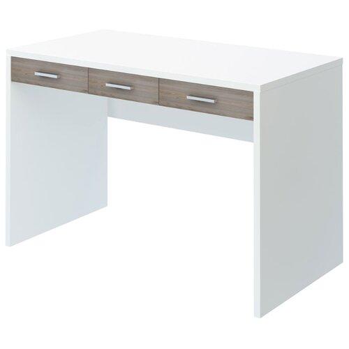 Компьютерный стол Мэрдэс Домино Нельсон СП-32С, 120х68 см, цвет: белый жемчуг/нельсон стол компьютерный мэрдэс стл овх с120рпрям бен