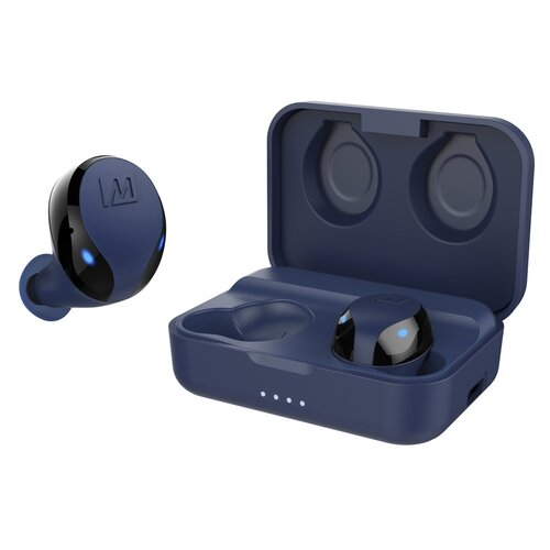 Фото - Беспроводные наушники MEE audio X10, blue наушники mee audio mx3 pro clear
