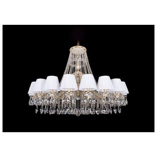 Люстра Bohemia Ivele Crystal 1771 1771/20/410/A/GW/SH2-160, E14, 800 Вт настольная лампа bohemia ivele 7003 1 33 gw sh2 160