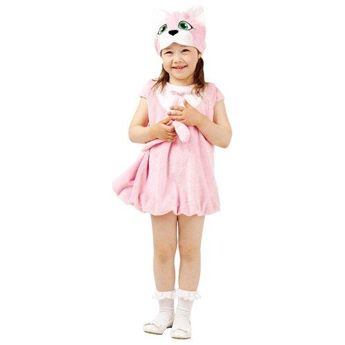 Купить Костюм Батик Кошечка (904 к-17), розовый/белый, размер 104-52, Карнавальные костюмы