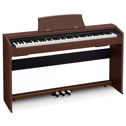 Цифровое пианино CASIO Privia PX-770 коричневый