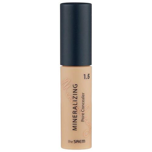 The Saem Консилер Mineralizing Pore Concealer, оттенок 1.5 Natural Beige консилер для маскировки пор mineralizing pore concealer 4мл 1 5 natural beige