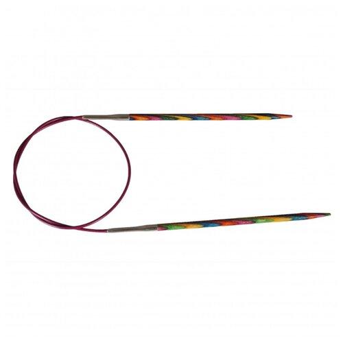 Купить Спицы Knit Pro Symfonie 21370, диаметр 5.5 мм, длина 120 см, розовый/желтый/голубой