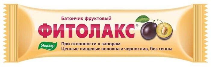 Фитолакс Батончик фруктовый сухая смесь 50 г