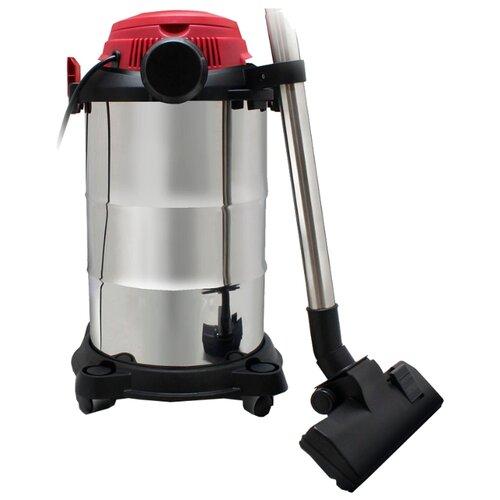 Профессиональный пылесос Ginzzu VS322 1250 Вт серебристый/красный/черный