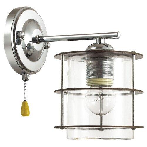 Бра Lumion Rotondum 3504/1W, с выключателем, 60 Вт бра lumion kristalin 3065 1w с выключателем 60 вт