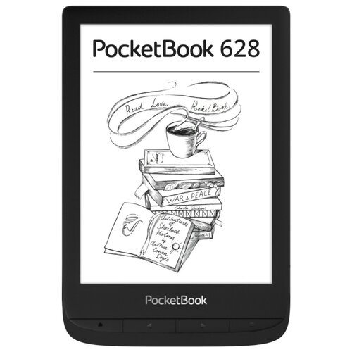 Электронная книга PocketBook 628 8 ГБ черный