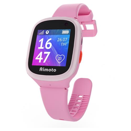 Детские умные часы Aimoto Start 2 розовый умные часы кнопка жизни aimoto rapunzel