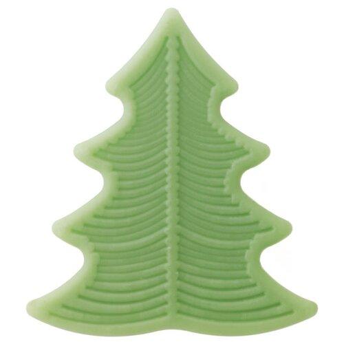Мыло кусковое Speick Season Soap Fir Tree в форме елочки, 50 г nicole acrylic soap seal stamp tree pattern for natural handmade soap decoration
