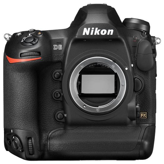 Фотоаппарат Nikon D6 Body черный фото 1