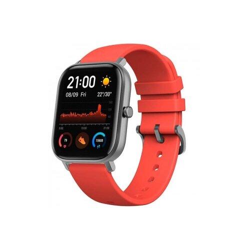 Купить Часы Amazfit GTS черный/оранжевый
