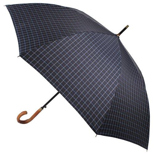 Зонт-трость полуавтомат FLIORAJ Premium мужской синяя клетка зонт трость женский flioraj 290401 fj полиэстер teflon полуавтомат цвет мультиколор