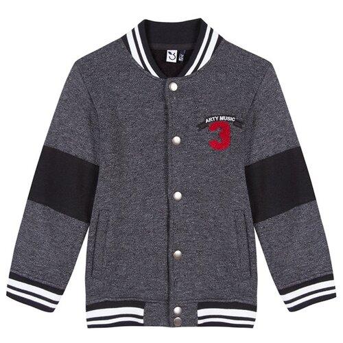 Купить Бомбер 3Pommes 3M17025 размер 110, серый, Куртки и пуховики