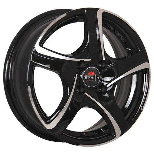 Колесный диск Yokatta Model-5 7x17/5x112 D66.6 ET43 BKF yokatta model 5 7x17 5x114 3 d64 1 et50 bkf