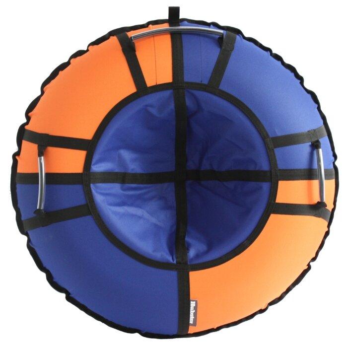 Тюбинг Hubster Хайп 120 см синий/оранжевый
